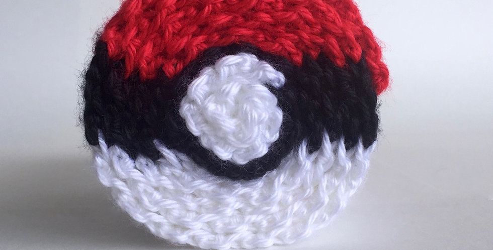 Pokésphere scarf || Crochet Pattern