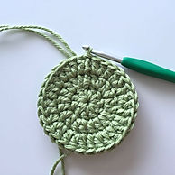 Working in the round crochet
