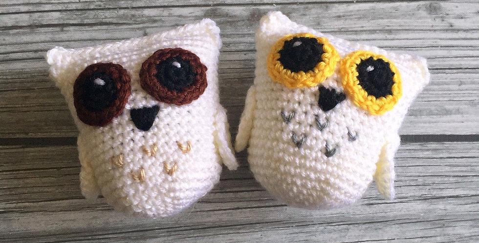 Owl plushie || Crochet Pattern