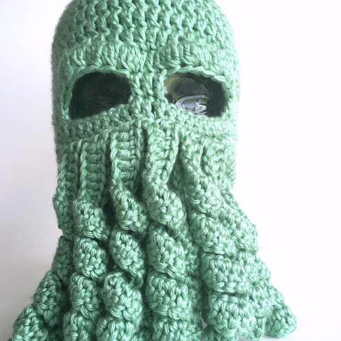 Cthulhu Hat Lovecraft Crochet Pattern
