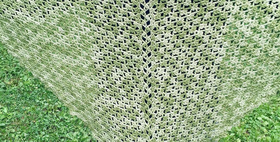 Pamela shawl, Gotham City Sirens || Crochet Pattern