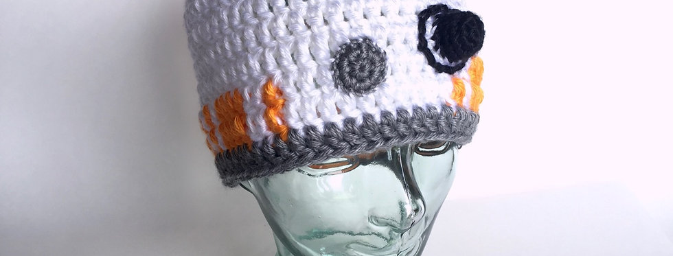 Space Droid II hat    Crochet Pattern