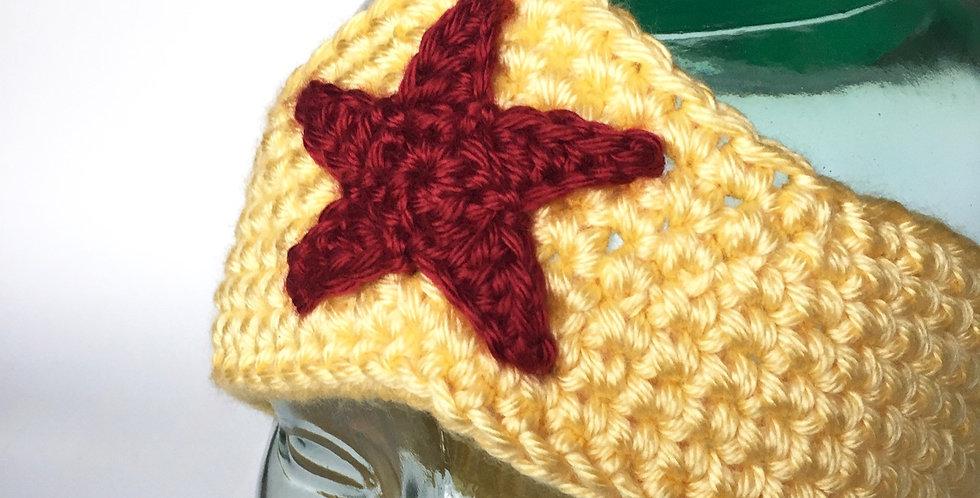 Amazon Warrior headband    Crochet Pattern