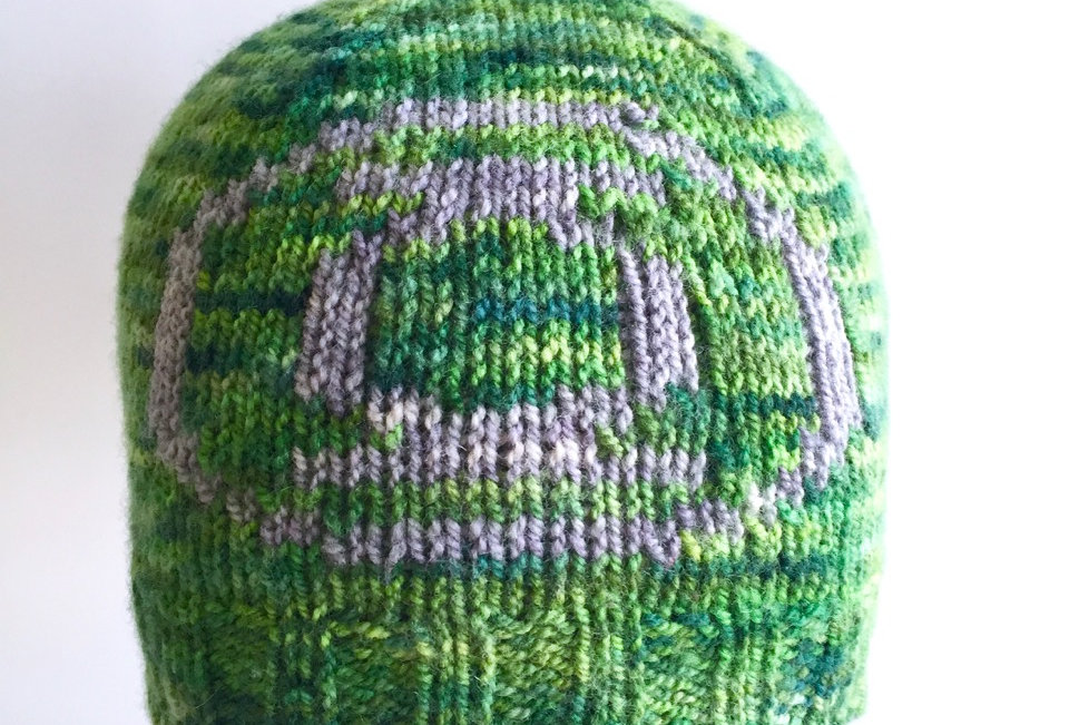 Hero Corps Ranger reversible beanie || Knitting Pattern
