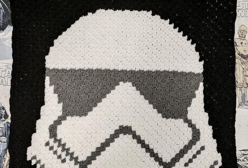 Space Soldier blanket || Crochet Pattern
