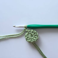 Magic double ring crochet