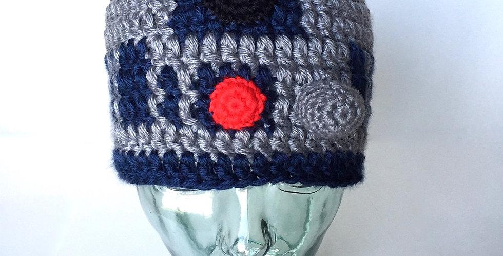 Space Droid I beanie || Crochet Pattern