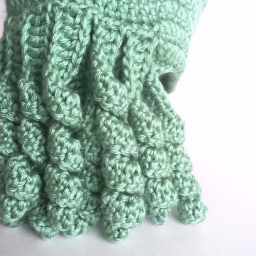 Cthulhu Hat Lovecraft Crochet Pattern