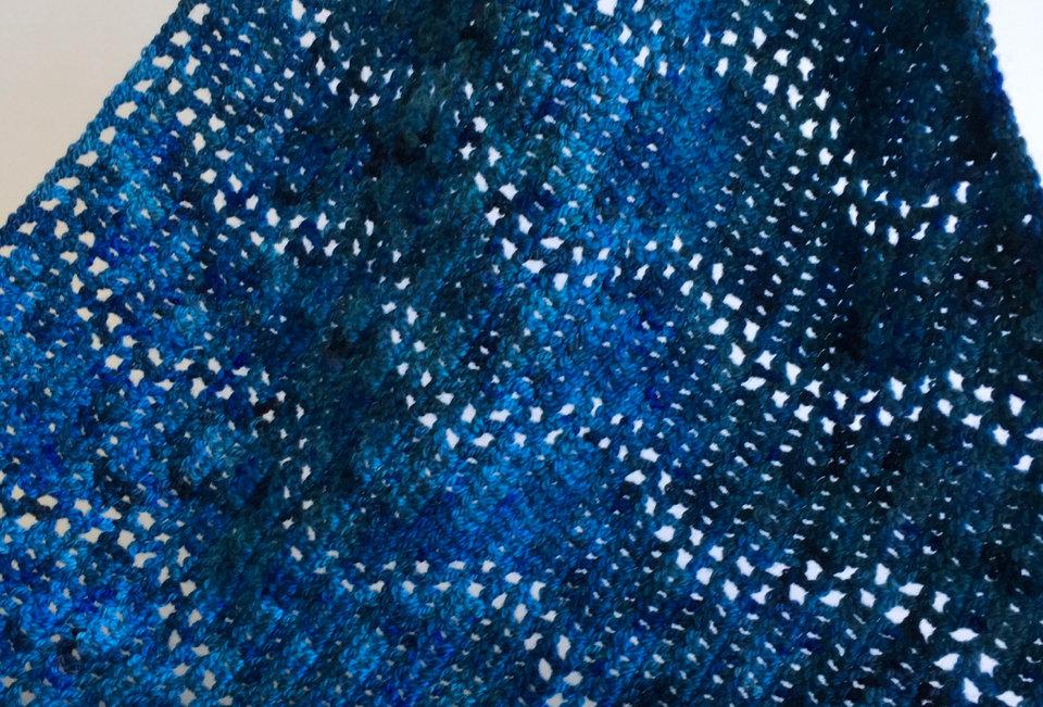 Katara shawl, Avatar scarves and shawls series || Crochet Pattern
