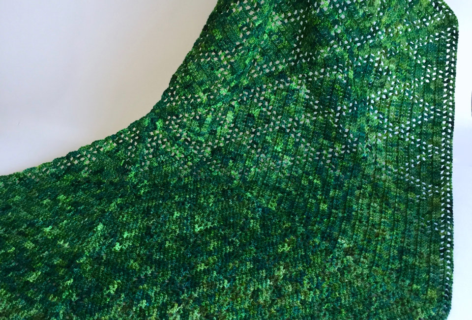 Suki shawl, Avatar scarves and shawls series || Crochet Pattern