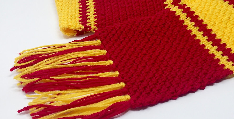 Magical School scarf || Crochet Pattern