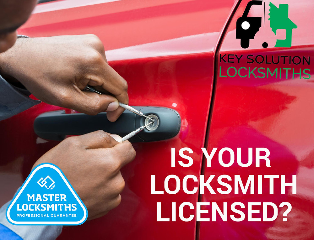 licensed locksmith