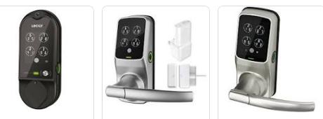 lockly vision smart door locks and keypad