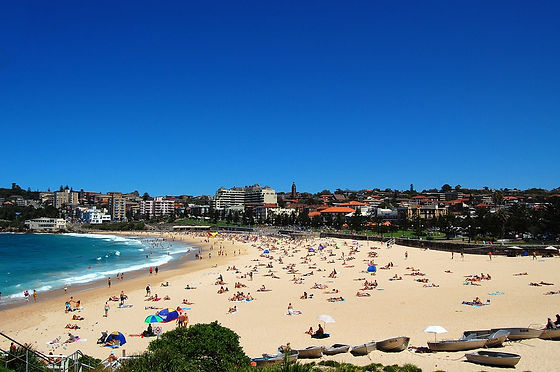 Coogee beach, where lots of car keys get lost in the sand. We help car lockouts