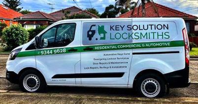 mobile locksmith van - Key Solution Locksmiths