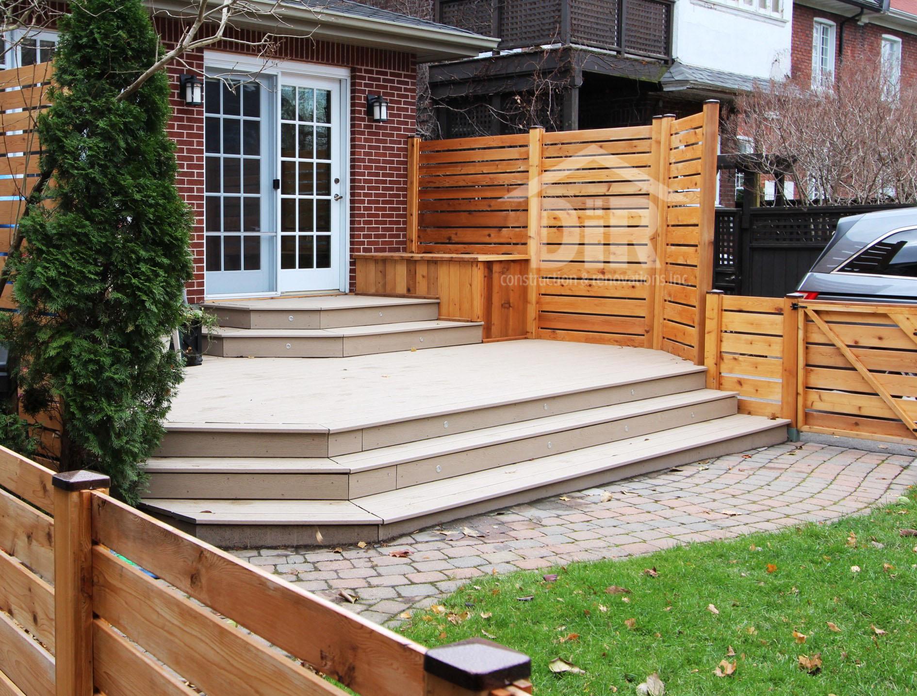 Combination Deck Composite & Cedar
