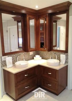 His and Her Sink Vanities