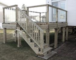Pressure Treated Wood Deck