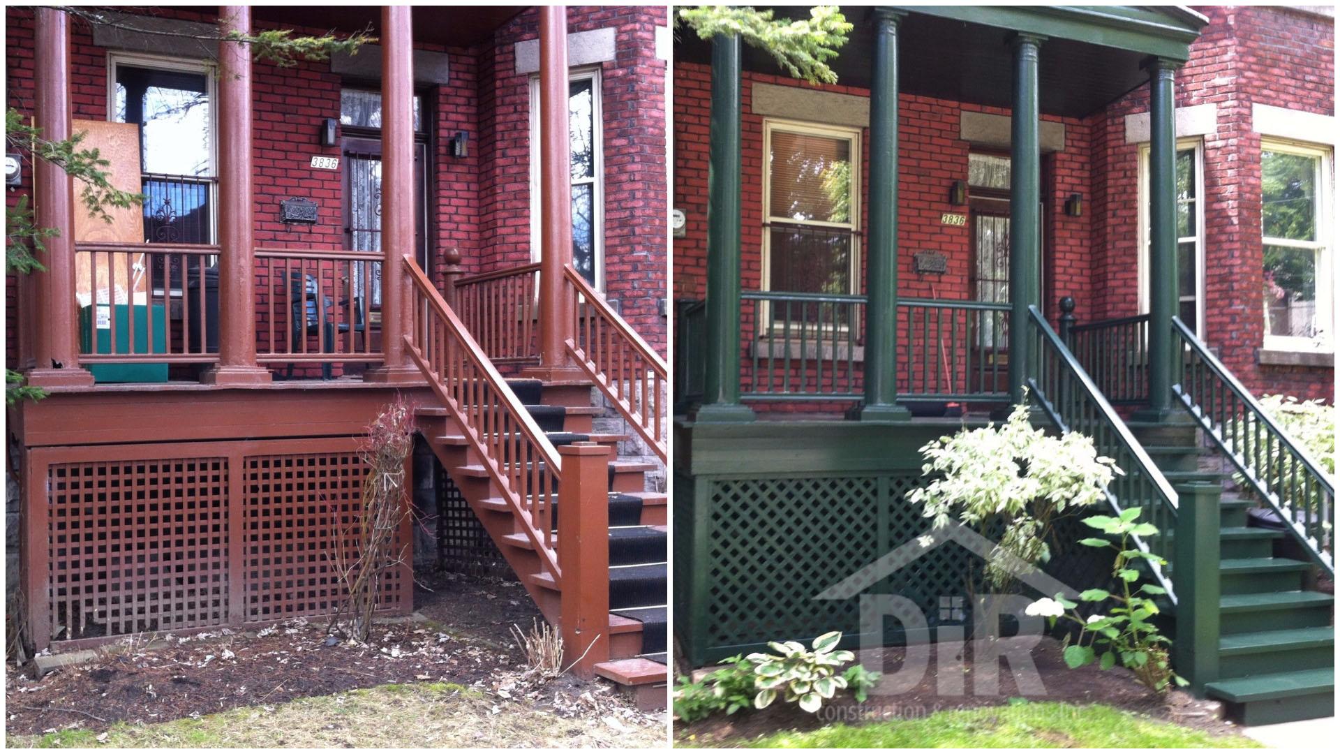 Exterior Wood Restoration