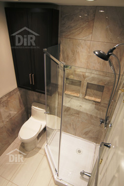 Shower Glass Doors and Niches