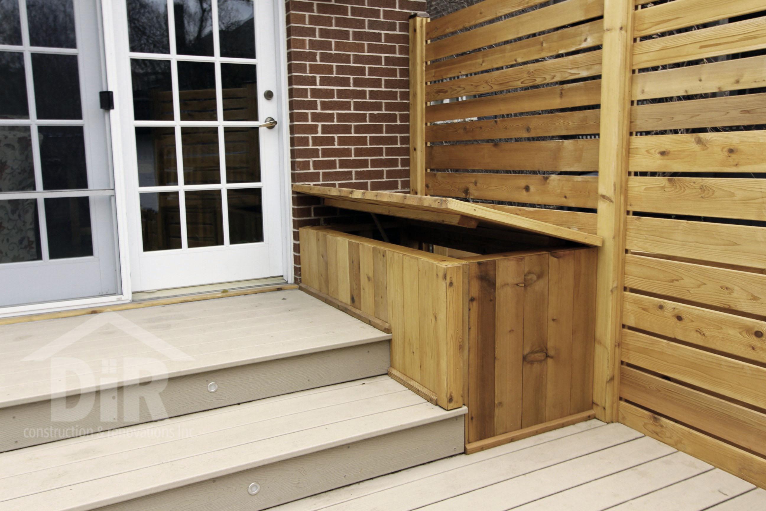 Deck Storage Bin