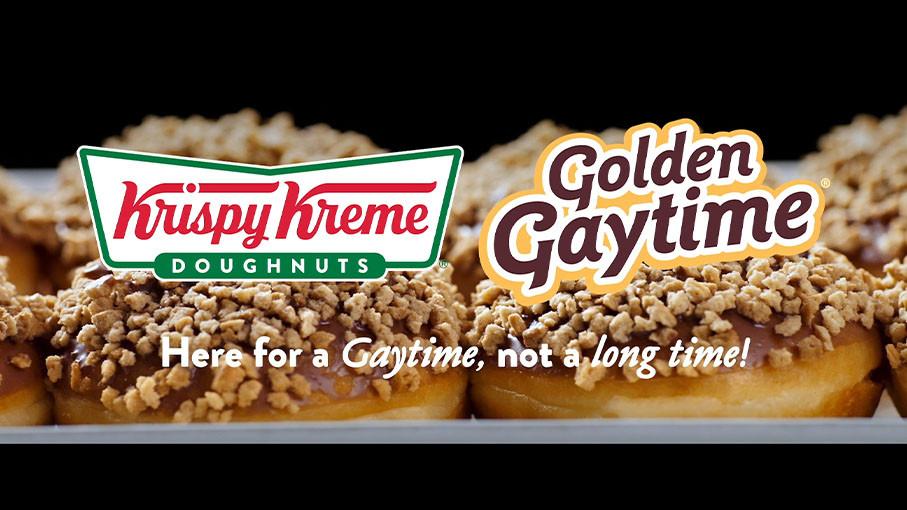 'Krispy Kreme - Golden Gaytime'