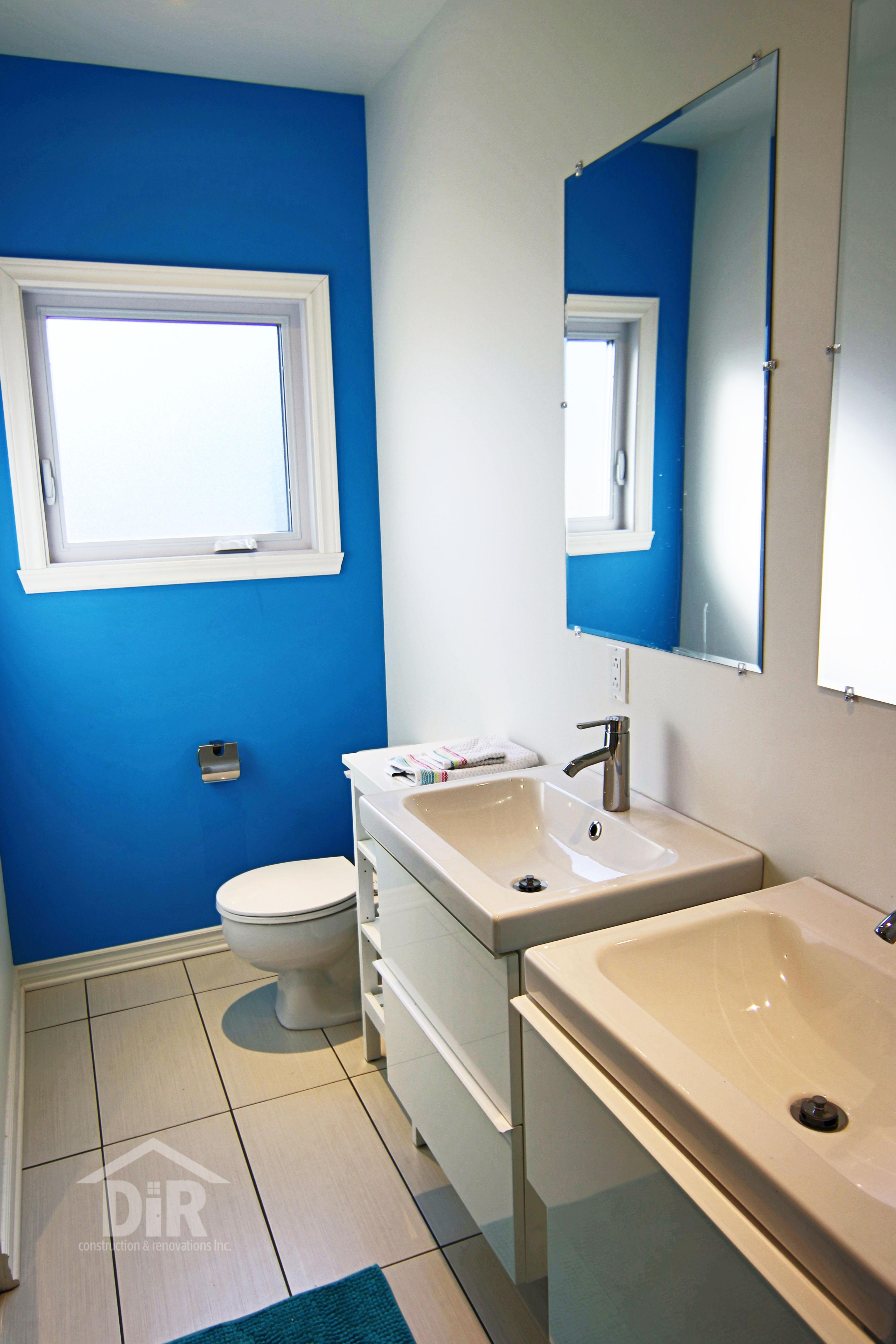 Children's Bathroom Blue IKEA