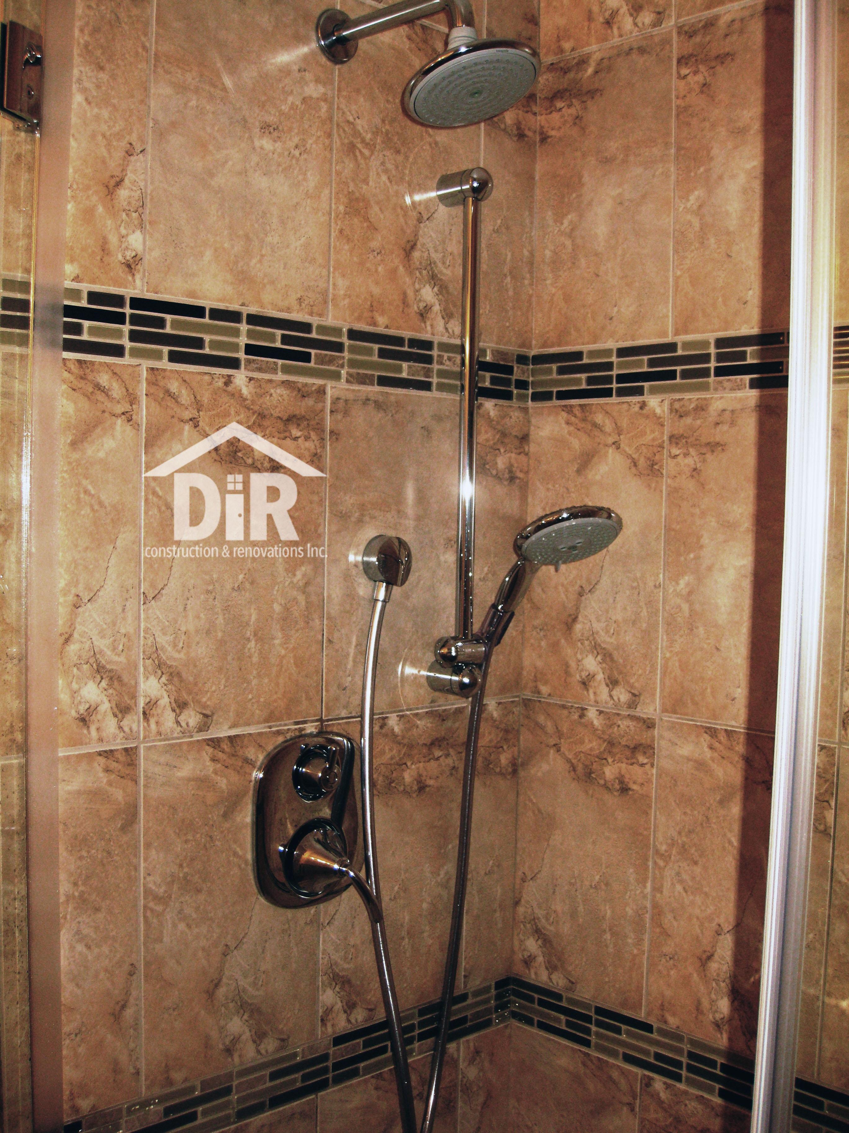 Bathroom Shower Travertine Tile