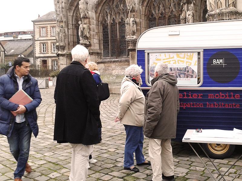 Atelier Mobile - Parvis de l'église