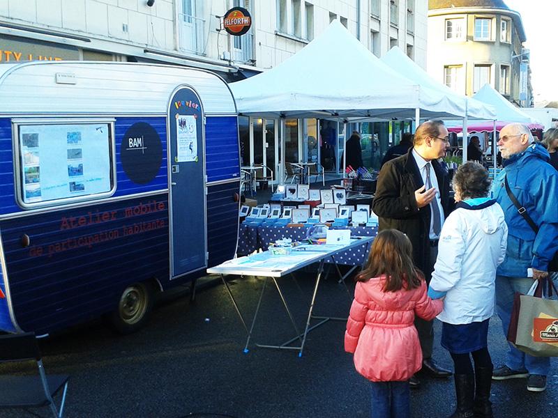 Atelier Mobile au marché