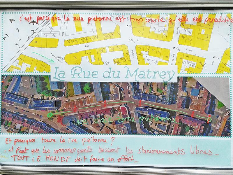 Fenêtre - Rue du Matrey
