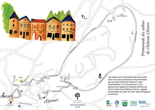 plan promenade des arbres - BAM - Elodie