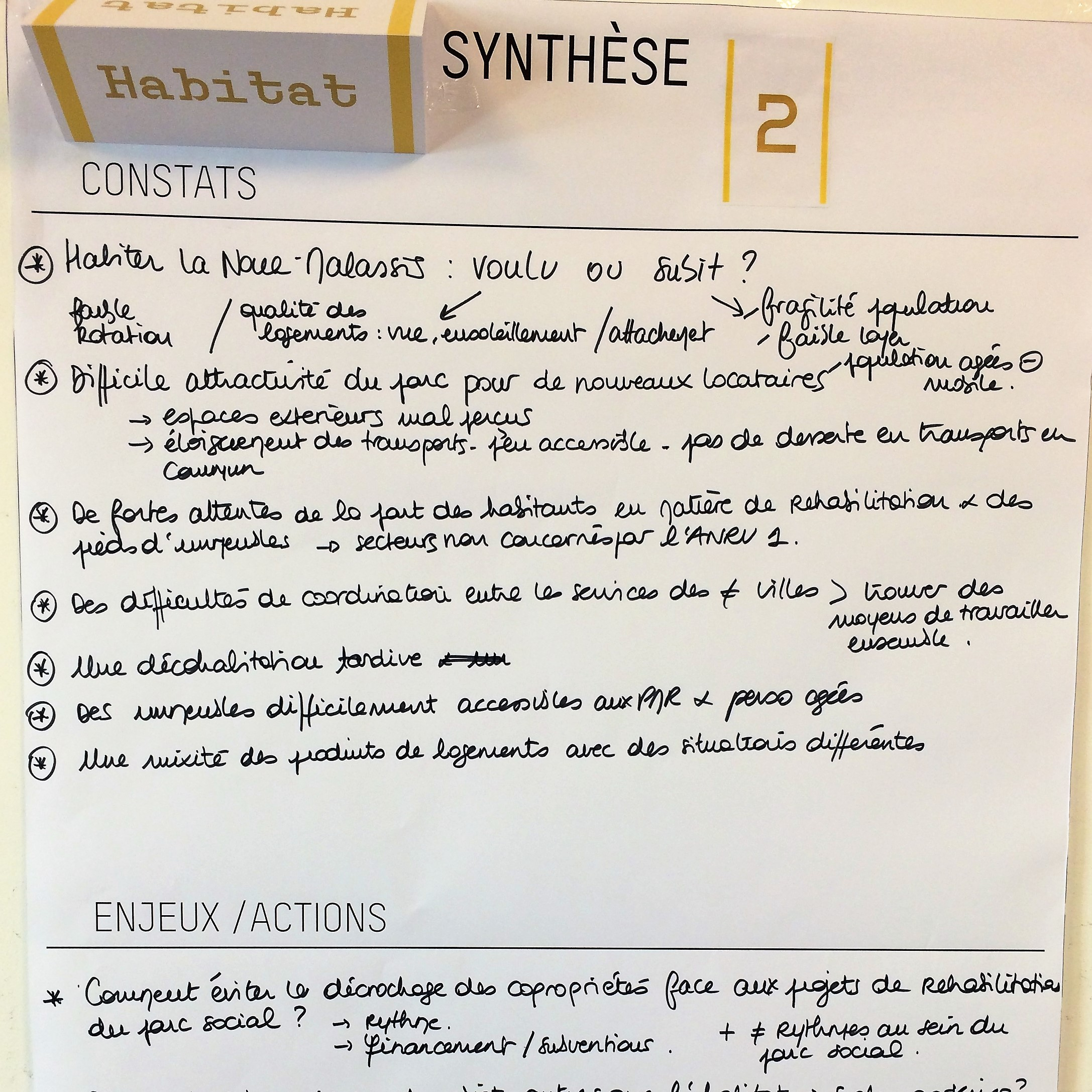 Synthèse table ronde 2