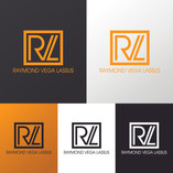 """Raymond Vega"" Logo variants"