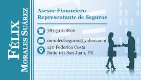 """Felix Morales"" Business Card 2 (Front)"