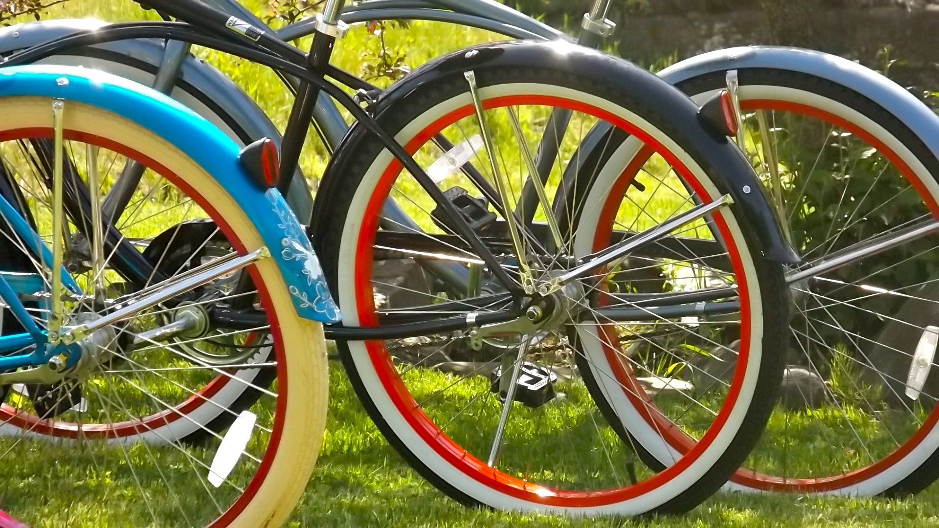 Colorful rides