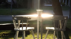 Picnic Tables shed a new light.