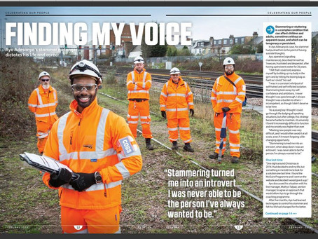 network rail: finding my voice