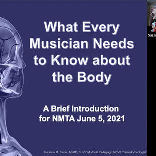 What Musicians Need to Know about the Body