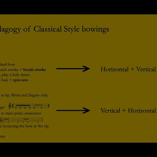 The Classical Style: Strings Session