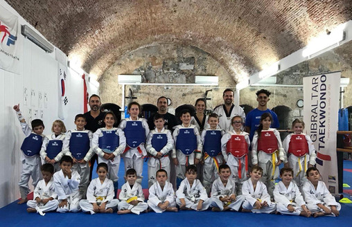 One to One Kyorugi Club Competition - November 2017