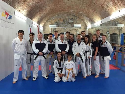 Royal Navy/Royal Marines Taekwondo team- April 2016