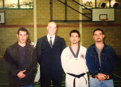 First met Grand Master Neil Guest - 2003