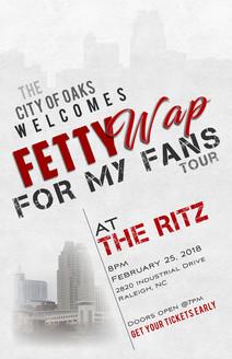 Fetty Wap Promo poster