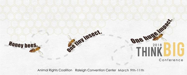 Billboard mockup for a 'Think Big' conferemce project