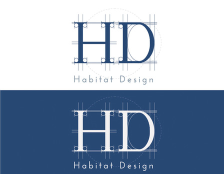 Logo mockup design for Habitat Design, a  coaching company