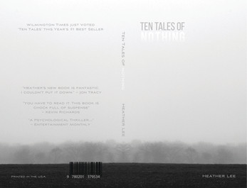 'Ten Tales of Nothing' empty book cover