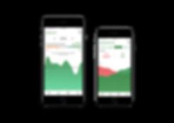 Kelag Sromverbrauch mobile app Graphik