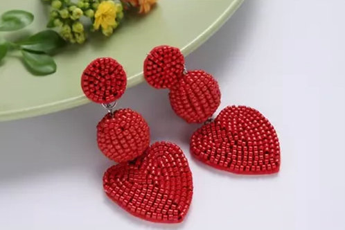 Red Drop Hearts