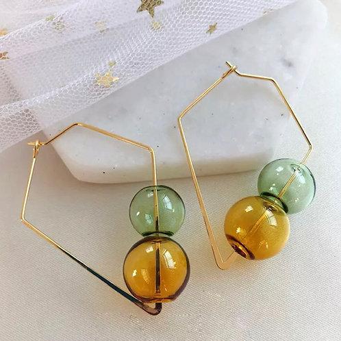 Gold/Green/Tri